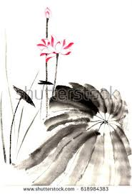 lotus painting stock images royalty free images u0026 vectors