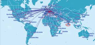 Flight Path Map Us Airways Flight Map Europe Ba Route Map Thempfa Org