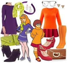 Scooby Doo Gang Halloween Costumes Daphne Velma Scooby Doo Halloween Halloween Costume Ideas