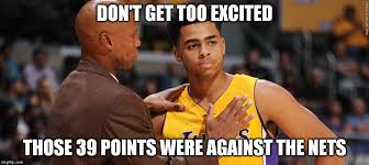 Russell Meme - byron scott and d angelo russell imgflip
