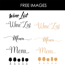 drink menu template free design templates menu templates wedding menu food menu bar