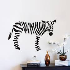Decals For Kids Rooms Online Get Cheap Zebra Wall Decals For Kids Aliexpress Com