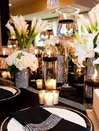 Bling Wedding Decorations For Sale 46 Cool Black And White Wedding Centerpieces Happywedd Com