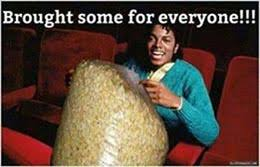 Meme Eating Popcorn - michael jackson eating popcorn meme and other funny photo comments