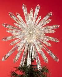 capiz classical multi point bethlehem star christmas tree topper