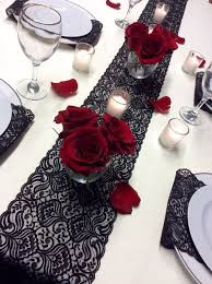 Black Table Centerpieces by Best 20 Red Table Decorations Ideas On Pinterest Gingham Party
