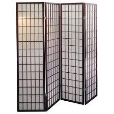 make a 4 panel room divider