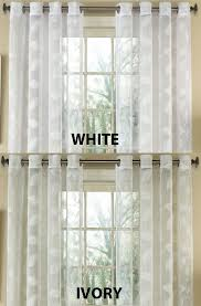 Lorraine Curtains Sheer Drapes And Curtains Avery Semi Sheer Faux Linen Grommet