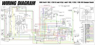 1966 ford truck wiring diagrams fordification info the u002761 u002766
