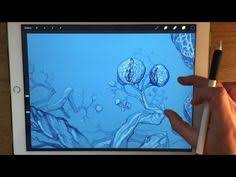 apple pencil drawing ipad pro art tutorial how to paint