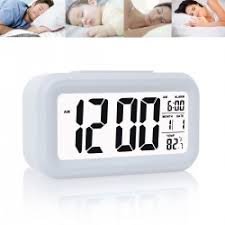 best light alarm clock digital alarm clock with sensor light date and temperature display