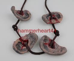 ear necklace daryl ear necklace zombies the walking dead replica props ebay