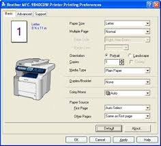 how do i change the paper tray to use when printing from my