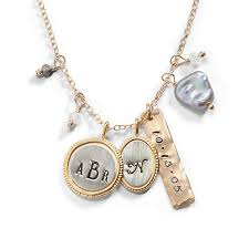 personalized gold jewelry personalized gold necklace jewelry three