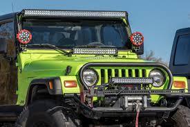 light bar jeep jeep tj 22 inch hood bracket u2013 got led