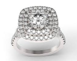 wedding ring big big diamond ring etsy