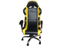 chaise bureau jaune surprenant chaise de bureau baquet s l300 type sparco cuir eliptyk