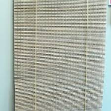 Painted Bamboo Blinds Decorating Window Treatment Ideas With Matchstick Blinds For Home