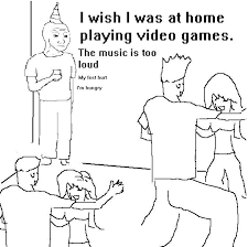 Me Me Me Original Video - i wish i was at home know your meme