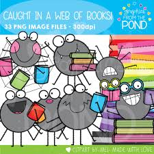 spiders and worms and books oh my graphics from the pond
