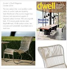 teak warehouse outdoor furniture featured in the press