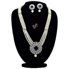 long pearl necklace set images Pearl necklace sets grand long white pearl necklace set in jpg