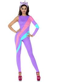 ladies magical unicorn catsuit costume escapade uk