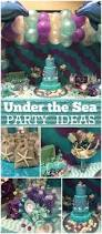 Under The Sea Centerpieces by 110 Best Mermaid Party Images On Pinterest Mermaid Birthday