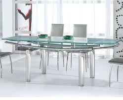 glass table black legs grey dining chairs with black legs plain cream carpet white frame
