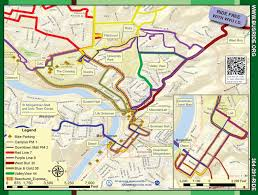 wvu evansdale map mountain line transit authority maps schedules wvu cus