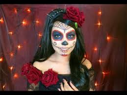 beautiful sugar skull makeup tutorial youtube