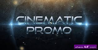 Cinematic After Effects Templates cinematic promo trailer after effects project videohive 盪 free