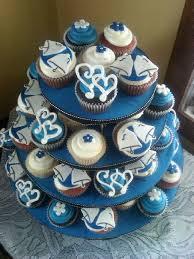 Cupcake Wedding Cake The 25 Best Navy Cupcakes Ideas On Pinterest Yellow Wedding
