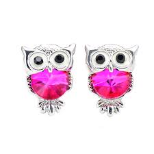 earrings brand owl animal earrings upjewelry