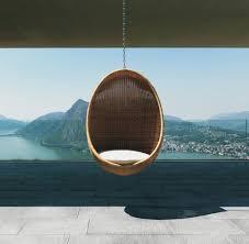 modern wicker outdoor egg chair design milk