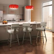 counter height bar stools with arms red stylish counter height