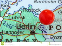 Map Of Berlin Germany by Pin On A Map Of Berlin Stock Photo Image 57234821