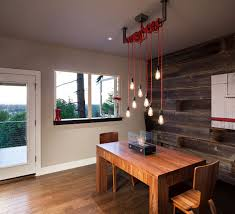 Modern Dining Light by Modern Home In Eugene Oregon By Jordan Iverson Signature Homes