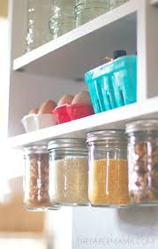 Under Cabinet Kitchen Storage by Diy Ify Under Cabinet Rice And Pasta Storage Bhg Style Spotters