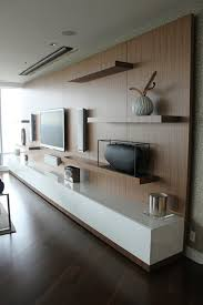 Modern Tv Wall Unit Desirable Tv Stand Unit With Espresso Color Option And Birch Wood