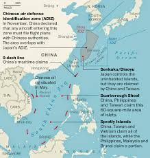 East China Sea Map by Pacific Sentinel May 2015