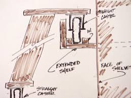 How To Build A Wall Cabinet by How To Build A Rolling Ladder Hgtv