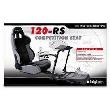 siège baquet bigben pour xbox 360 ps3 et pc accessoire console