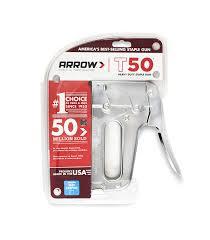 Best Staple Size For Upholstery Amazon Com Arrow Fastener T50 Heavy Duty Staple Gun Home Improvement