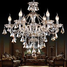 Czech Crystal Chandeliers Online Buy Wholesale Chandelier Lighting Modern From China