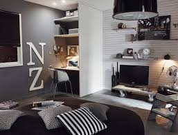 chambre ado noir et blanc smart home office ideas for small spaces correspondant chambres