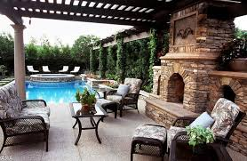 Backyard With Pool Ideas Swimming Pool Poolside Furniture Design Ideas With Shades