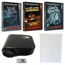 amazon com virtual halloween led projector value kit window