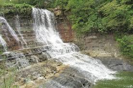 Kansas waterfalls images Geary lake falls junction city kansas JPG