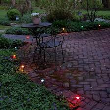 10ct electric pathway lights multi colored target